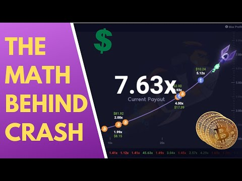 Exploring The Math Behind Crash | Roobet Cryptocurrency Casino Game