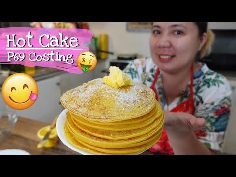 HOT CAKE pang Negosyo, Recipe with Costing