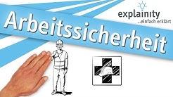 Arbeitssicherheit einfach erklärt (explainity® Erklärvideo)