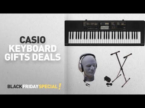 Walmart Top Black Friday Casio Keyboard Gifts Deals: Casio CTK-2400 61-Key Premium Portable Keyboard