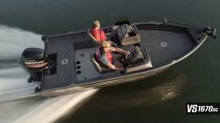 Ranger Aluminum VS1670DC On Water Footage