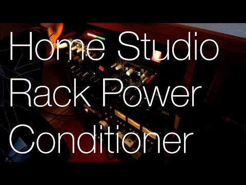 Adding a Power Conditioner to the Studio Setup | IMNC