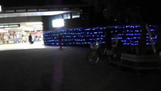 DSCN0094糖尿病撲滅ブルーサークル・キャンペーン・ライトアップ20151112東急病院