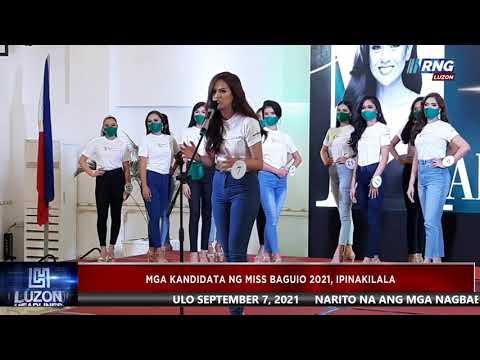 Mga kandidata ng Miss Baguio 2021, ipinakilala