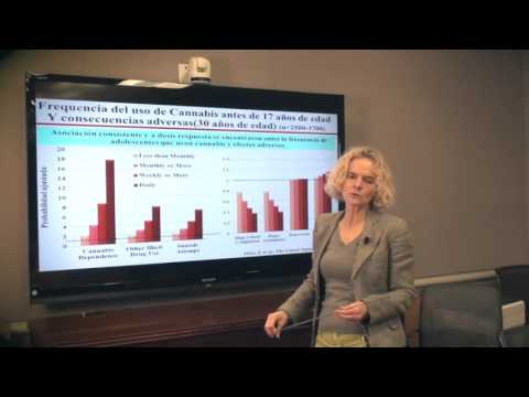 NIDA Nora Volkow and the Dangers of Cannabis