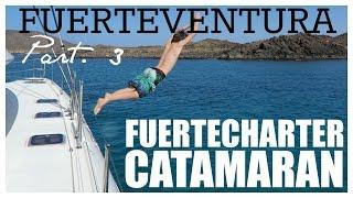 CATAMARAN TRIP  FUERTEVENTURA  |  twoplustwocrew