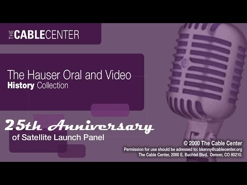 25th Anniversary of Satellite Panel: Oral and Video History Collection Interview