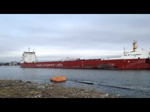 Great Lake Freighter CSL St. Laurent