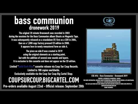 CSC-014 - bass communion - dronework 2019 Teaser I mp3
