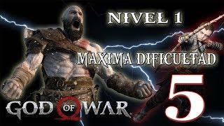 🔴 NIVEL 1- MAXIMA DIFICULTAD - GOD OF WAR - PARTE 5!!!