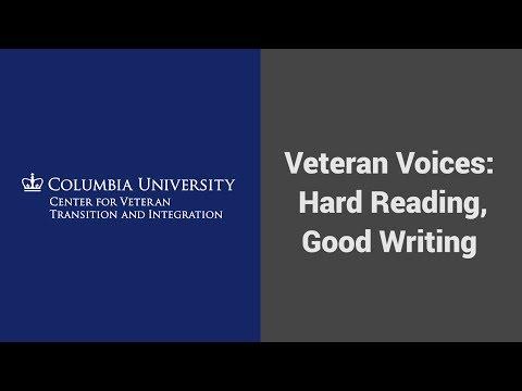 MOOC USSV101x | Veteran Voices: Hard Reading, Good Writing | Full