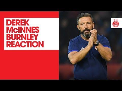 Derek McInnes | Aberdeen 1-1 Burnley