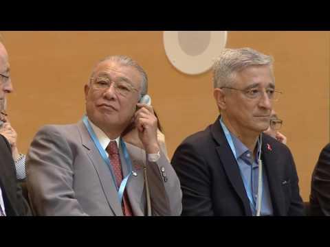 WHO: WHA 69 - Public health prizes awarded