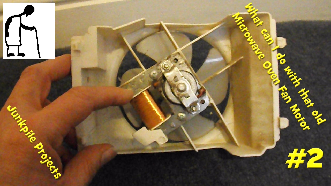 What Can I Do With That Old Microwave Oven Fan Motor 2
