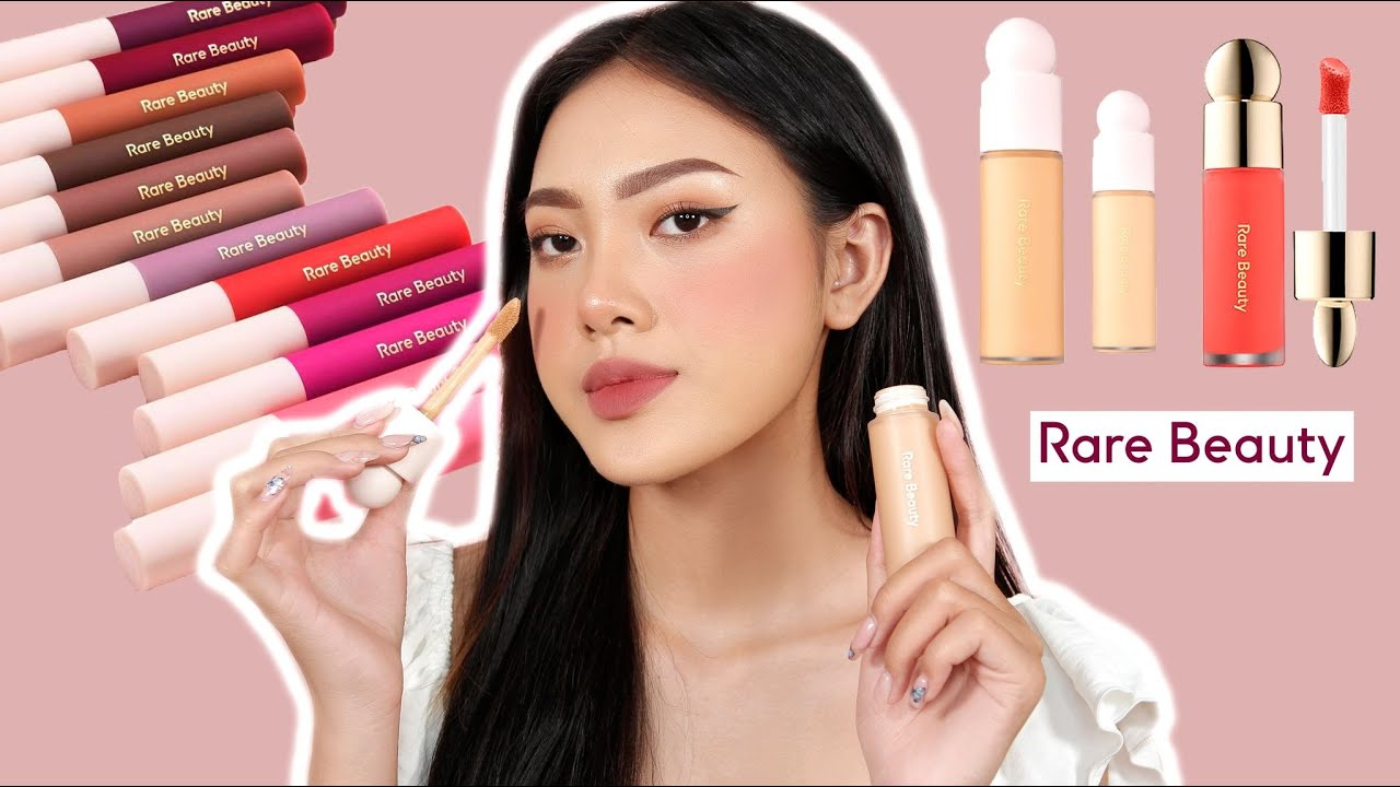 [REVIEW] RARE BEAUTY by Selena Gomez | First impressions OMG | Blingbabi