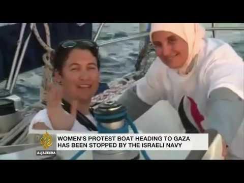 Israel intercepts boat seeking to break Gaza blockade
