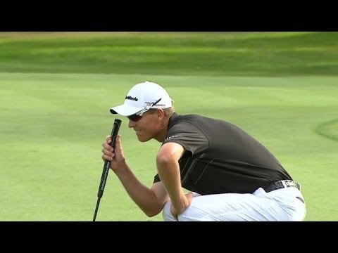 John Senden drains long birdie on 71st hole at Valspar