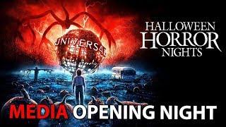 🔴 Halloween Horror Nights 2019 - Media & Opening Night! || Universal Orlando Resort 😈