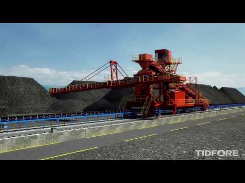 TIDFORE Bulk Material Handling - Boom Type Stacker
