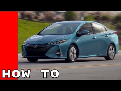 2017 Toyota Prius Prime How To