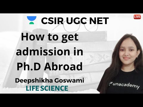 How to get admission in Ph.D Abroad? | Deepshikha Goswami