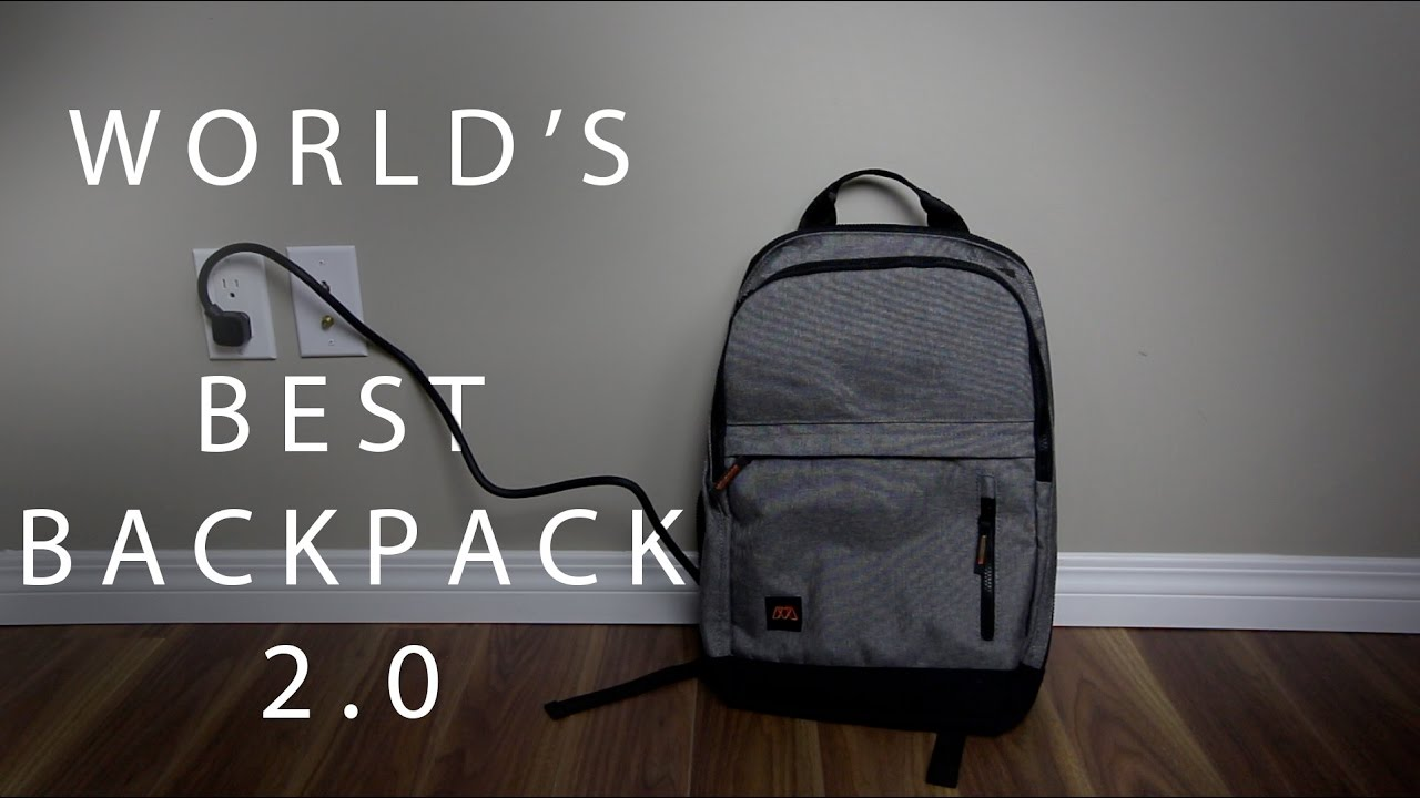 World's Best Backpack 2.0 - MOS Pack - YouTube