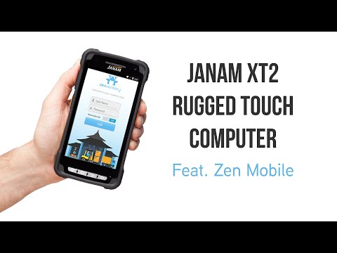 Janam XT2 Rugged Touch Computer - Feat. Zen Mobile