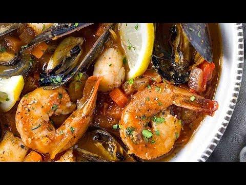 Seafood Cioppino (Fish Stew)