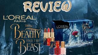 Beauty and the Beast live action 2017 - film collection L'Oréal makeup designer Paris boxset REVIEW
