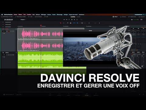 DAVINCI RESOLVE 15 : ENREGISTRER UNE VOIX OFF POUR VOS MONTAGES