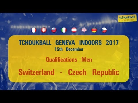 Tchoukball Geneva Indoors 2017 / Nations Cup Men : Switzerland - Czech Republic