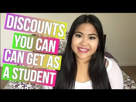 BACK TO SCHOOL | DISCOUNTS YOU CAN GET AS A STUDENT