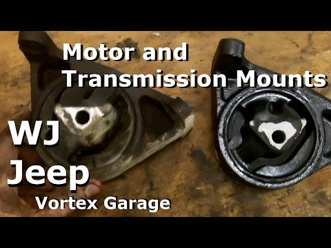 Jeep WJ Motor and Transmission Mount Replacement 4.7l - Vortex Garage Ep. 8