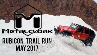 Rubicon May 2017 Snow Run