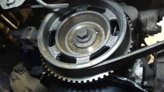 Как одеть, заменить ремень генератора на Приора! How to replace the belt of the generator VAZ 2170