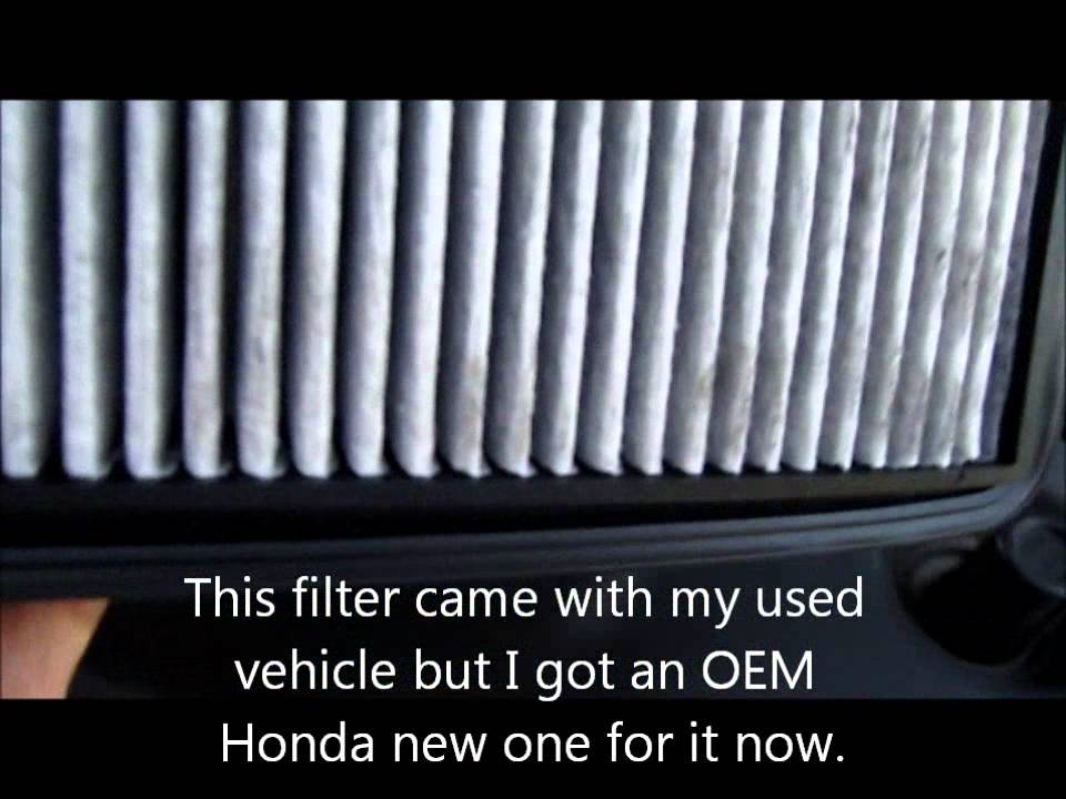How To Change The Acura MDX Engine Air Filter Or Other Vehicles And - Acura mdx air filter
