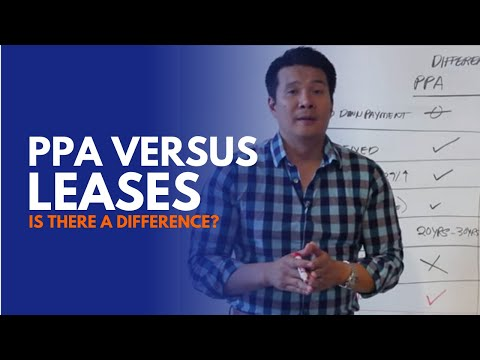 What is the difference between a Solar Lease VS. PPA Lease