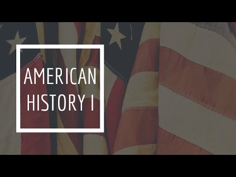 (1) American History I - Introduction / Timeline