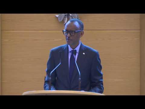 President Kagame addresses National Assembly in Djibouti   19 April 2017