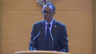 President Kagame addresses National Assembly in Djibouti | 19 April 2017