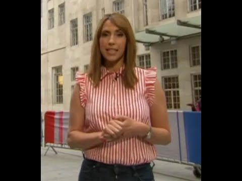 Alex Jones pours cleavage into tight top on The One Show thumbnail