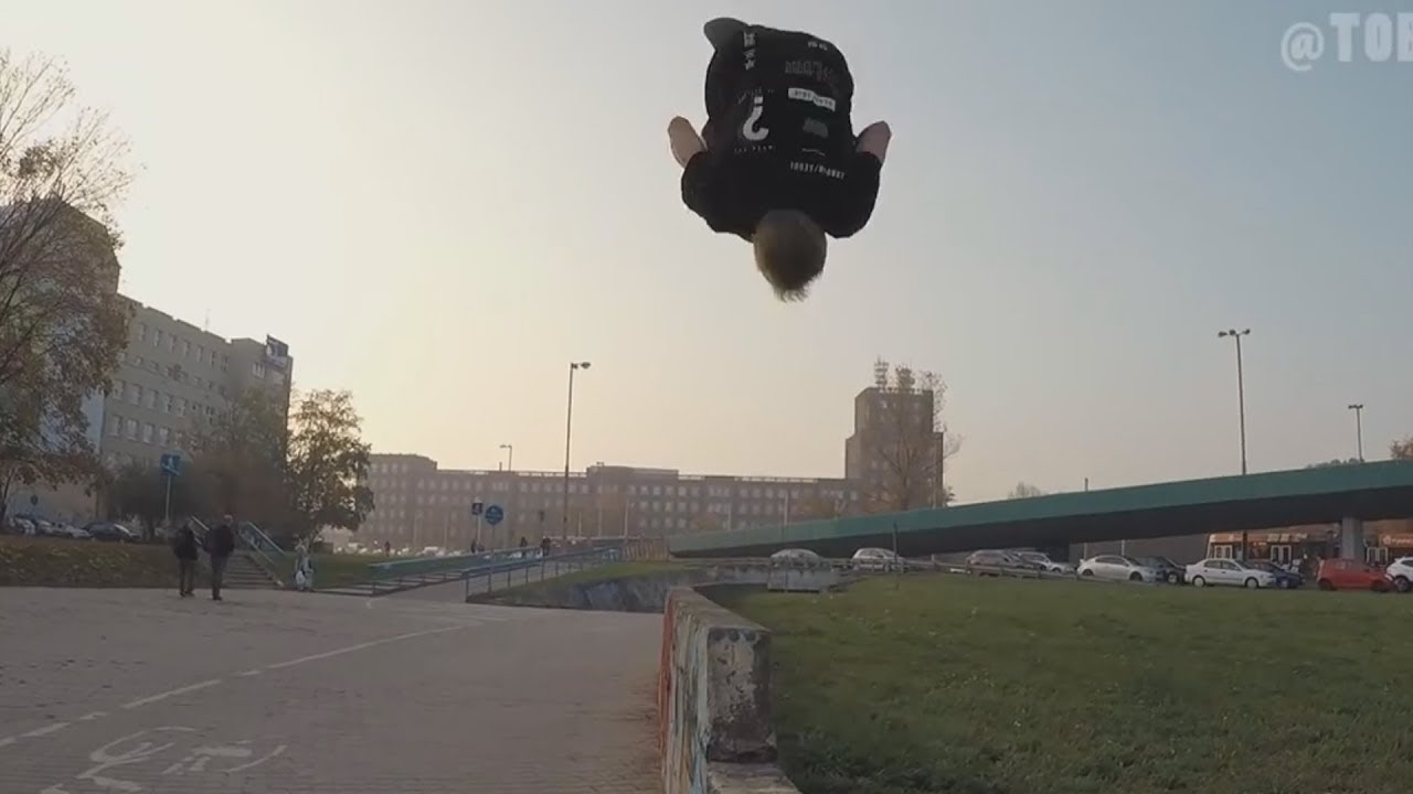 Amazing Parkour and Freerunning 2018 - Fearless