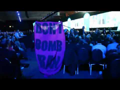 Occupy Wall Street Activists Disrupt Sen. Levin in AIPAC: Don't Bomb Iran, Equality for Palestinians