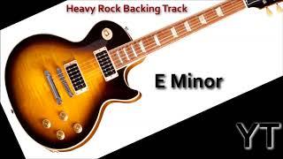 Heavy Rock Backing Track E Minor Hell Yeah!