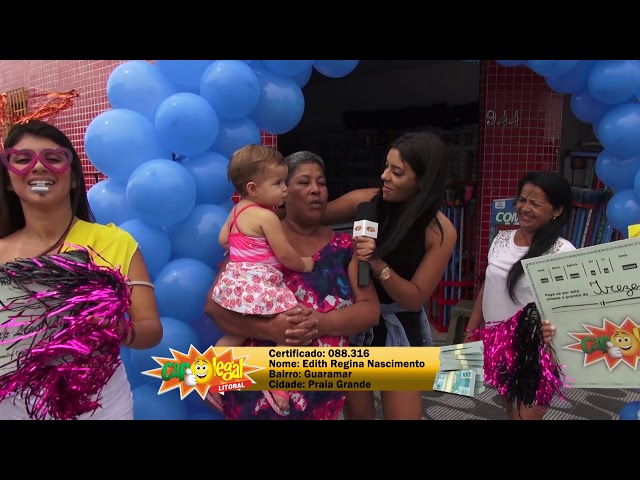 Edith da Silva, da Praia Grande levou 300 Mil Reais