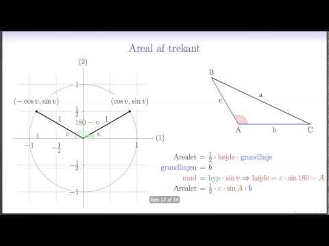 Retvinklede trekanter og cos sin og tan from YouTube · Duration:  14 minutes 43 seconds