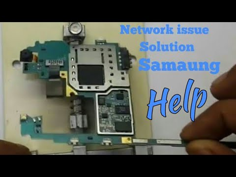 Samsung J5 No Network Problume Solution Network IC
