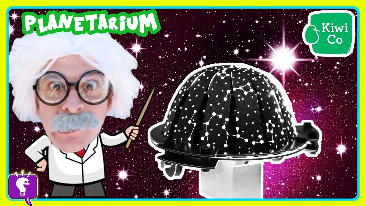 Planetarium DIY Science Project with HobbyHarry by HobbyKidsTV