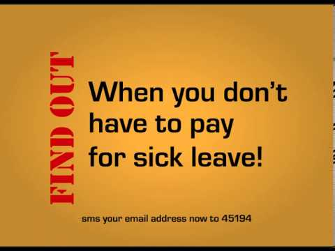 Stop sick leave abuse today!