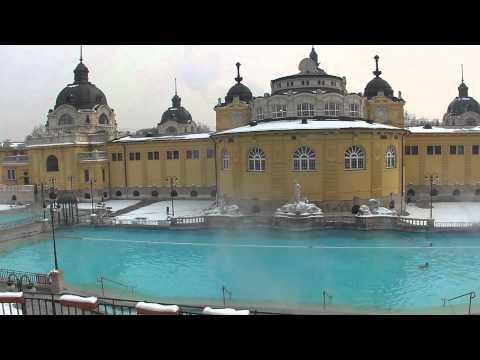 Széchenyi bath in winter - Széchenyi fürdő télen 2012.